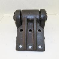 "Heavy Duty Jib Crane Pivot Arm Hinge 7"" x 8-1/2"" Cast Iron I-Beam Or Wall Mount"