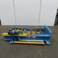 "Power Pack Co. CDLR 306 Power Roller Case Pallet Conveyor 32""BF x 78""L 30FPM"