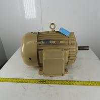 Delco 65404 15Hp Electric Motor 460V 3PH 324U Frame 1175 RPM