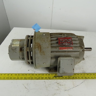 Delco 2 Speed Electric Motor 1.5/.5Hp 1770/580 RPM 215Y 460V 3Ph W/Brake