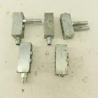 Graco M8P-20T Trabon Mixed Lot Flow Divider MSP-35S Lot Of 5