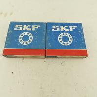 SKF 6213 2RSJEM 65mm ID x 120mm OD Radial Deep Groove Ball Bearing Lot Of 2