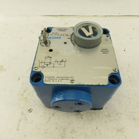 Vickers CPG-06-30A-10 Hydraulic Flow Control Fine Feed Control Panel