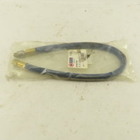 """Coil Hose RP06244BS 3/8"""" Hose 1/4"""" Ends Swivel Lead In Whip Hose 24"""""""