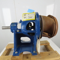 """GR Gorman-Rupp Centrifugal Pedestal Trash Pump 15"""" Impeller 1-3/4"""" Input shaft"""