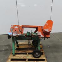 "Wellsaw Model 58B 6"" x 10"" Metal Cutting  Horizontal Band Saw 115V Single Phase"