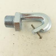 "1"" Male Threaded Hot Dip Galvanized High Bay Light Fixture Safety Hook"