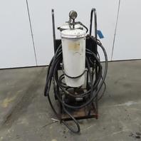 Hydraulic Filtering System W/Hoses & Cart 1/2Hp 115V
