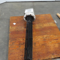 """Heat Exchanger & Transfer FH0612-18-38S-483 6"""" Flanged 38"""" Immersion Heater 480V"""