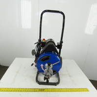 PACIFIC HYDROSTAR 68284 Drain Monster 50 Ft. Power-Feed Drain Cleaner 120V 1Ph