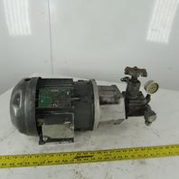 Continental 8B15-RF-0-15-M 3Hp Hydraulic Pump 230/460V 3Ph 1500psi