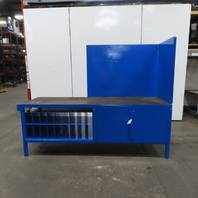 """1/4"""" Thick Top Steel Fabrication Welding Layout Table Work Bench 94""""x30""""x36"""""""