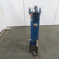"""FSI BFNP12 Carbon Steel Bag Filter Strainer Vessel/Housing 150PSIG  27x 8"""" OD"""