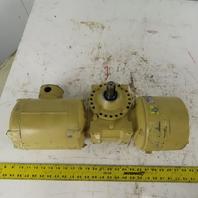 Electra-Gear Gear Motor 30:1 Ratio 230/460V 3Ph 57.4 RPM W/Brake