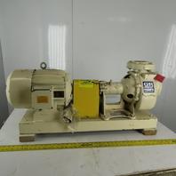Gorman Rupp O-Series 7.5Hp 3x3 Horizontal Self Priming Centrifugal Pump 120GPM