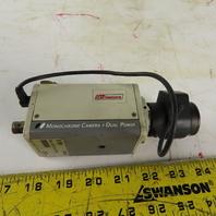 ARM Electronics B380 Monochrome Camera EIA DC12V/AC24V W/Zoom Lens