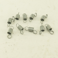 """7/16"""" OD x 3/8"""" ID Double Loop Extension Spring 1-3/8"""" - 2-1/2"""" Length 10Pcs."""