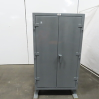 """Strong Hold 35-243G 3 Shelf Industrial Tool Parts Storage Cabinet 36x24x65-1/2"""""""
