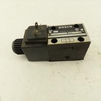 Bosch 081WV06P1V1012WS115/60 4/2 Hydraulic Single Solenoid Directional Valve