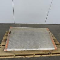 "Aluminum Truck Dock Board Plate Bridge Ramp 36""x 60"""