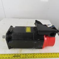 Fanuc A06B-0854-B100 #100 AC Spindle Motor 3Ph 1500-8000RPM Damaged
