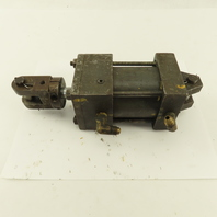 """Lynair A-B322 2-1/2 Bore 1"""" Stroke Hydraulic Double Acting Cylinder Clevis Mount"""