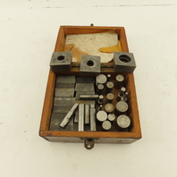 Hardened Steel Round Hole Punch And Die Set 36 Pcs.