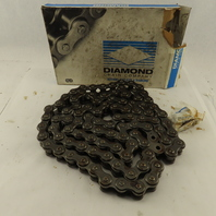 Diamond #100 Single Row Riveted Roller Chain 10'