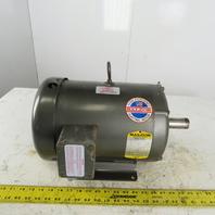 Baldor M3704T 3Hp Electric Motor 208-230/460V 3Ph 213T Frame 1140 RPM