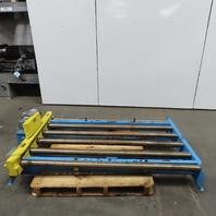 "Power-Pack CDLR644 Power Roller Case Pallet Conveyor 64""BF x 45""L 45FPM 3Ph"