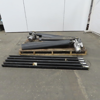 """Power Drop Down Safety Curtain 48"""" Wide x 72"""" High 230/460V 3Ph Lot"""