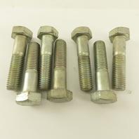 M14X2.00 Metric Hex Head Bolt 60mm Long Grade 8.8 Zinc Lot Of 7