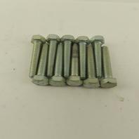 M8X1.25 Metric Hex Head Bolt Full Thread 35mm Long Grade 8.8 Zinc Lot Of 10