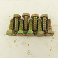M10X1.50 Metric Hex Head Bolt Full Thread 30mm Long Grade 10.9 Zinc Lot Of 9