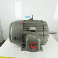 US Motors 40Hp Electric Motor 460V 3Ph 404U Frame 1180RPM 2.375 Shaft