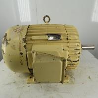 "Delco 25Hp Electric Motor 460V 3Ph 365U Frame 880RPM 2-1/8"" Shaft"