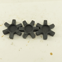 Lovejoy L-090 L-095 Flexible Jaw Coupling NBR Rubber Spider Lot Of 3
