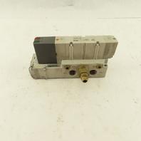 SMC VQ4200-3W1 2 Position Solenoid Directional Air Valve 110V Coil