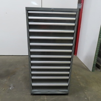 """13-Drawer Industrial Parts Tool Storage Shop Cabinet 30""""x28""""x59"""""""