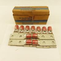 Teledyne Penn Union BLU-035D 350 MCM Copper 2 Bolt Compression Lug Lot Of 11