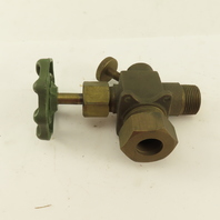 """Penberthy 64250-040 3/4"""" NPT Glass Sight Gage Cock Drain Valve Only"""