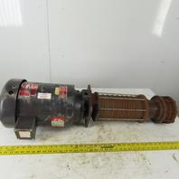 Gusher Pump SMSC4-11-1000FJ-4 Vertical Multi Stage Centrifugal Pump 10Hp 3450RPM