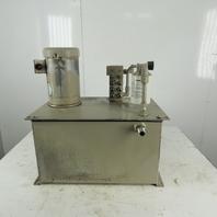 Parker PU5256B 17gal Hydraulic Power Unit 6.6gpm 1000psi 2hp 208-230/460V 3Ph