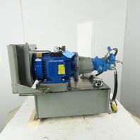 FSC PU5H10G-850-0600 14gal Hydraulic Power Unit W/Heat Exchanger 5hp 230/460V