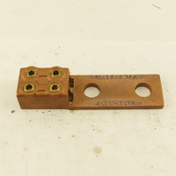 Penn Union VVL2-21766 4 AWG Bronze 2 Hole 2 Wire Mechanical Lug