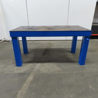 """1/4"""" Thick Steel Fabrication Layout Welding Table Work Bench 72-1/2""""x36""""x36-1/4"""""""