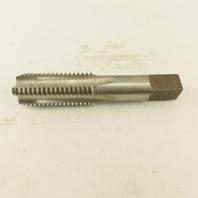 "Greenfield 1-1/8""-7 NC RH GH4 HSS Straight Flute Plug Tap Bright Finish USA"