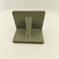 "5""x4""x6"" Cast Iron 90° Angle Plate/Block Machinist Set Up Fixture"