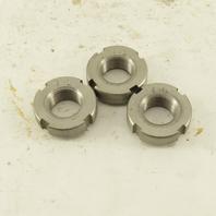 Whittet-Higgins NS01 Stainless Steel Bearing Retaining Nut .469-32 Thread Lot/3