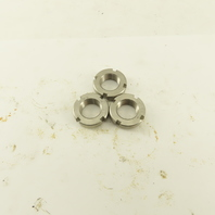Whittet-Higgins NS-02 Stainless Steel Bearing Retaining Nut .586-32 Thread Lot/3